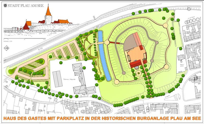 Freianlagengestaltung Platzbefestigung Baukonzept